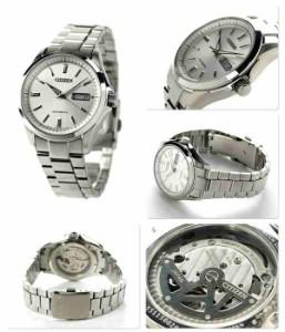 シチズン メカニカルウォッチ メンズ 腕時計 NP4040-54A CITIZEN シルバー