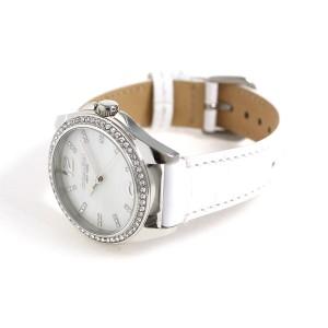 コーチ トリステン クオーツ レディース 腕時計 14502107 ホワイトシェル×ホワイト