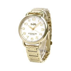 【あす着】コーチ デランシー シグネチャー 36mm レディース 腕時計 14502496 COACH ゴールド