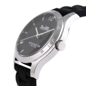 コーチ シグネチャー 34mm クオーツ レディース 腕時計 14502524 COACH ブラック