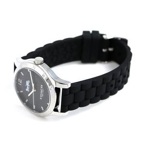 【あす着】コーチ シグネチャー 34mm クオーツ レディース 腕時計 14502524 COACH ブラック