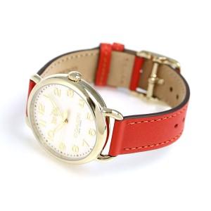 コーチ デランシー 36mm クオーツ レディース 腕時計 14502719 COACH オレンジ