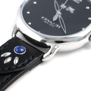 【あす着】コーチ デランシー 36mm クオーツ レディース 腕時計 14502738 COACH ブラック