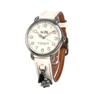 【あす着】コーチ デランシー 36mm クオーツ レディース 腕時計 14502743 COACH アイボリー
