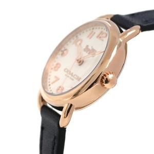 コーチ デランシー 28mm クオーツ レディース 腕時計 14502749 COACH アイボリー