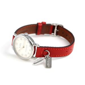 コーチ デランシー 28mm クオーツ レディース 腕時計 14502758 COACH アイボリー