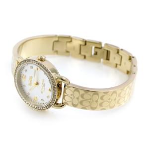 【あす着】コーチ デランシー シグネチャー 28mm レディース 腕時計 14502766 COACH ゴールド