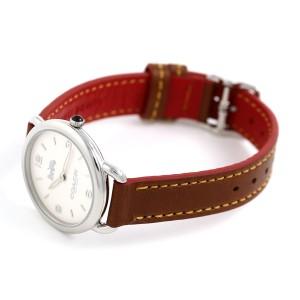コーチ デランシー スリム 28mm レディース 腕時計 14502789 COACH ブラウン 革ベルト
