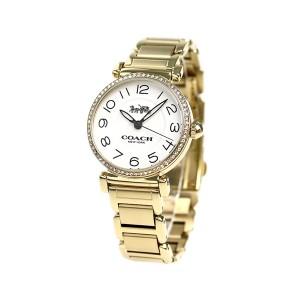 コーチ マディソン ファッション 32mm レディース 腕時計 14502855 COACH シルバー×ゴールド
