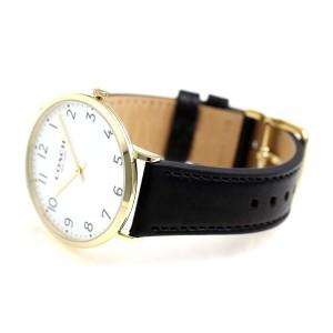 【あす着】コーチ スリム イーストン 40mm クオーツ メンズ 腕時計 14602125 COACH ホワイト