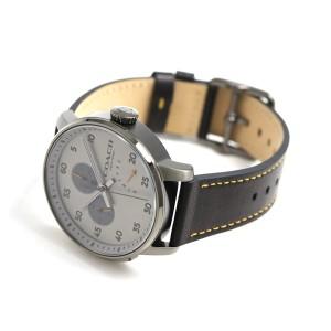 コーチ ブリーカー マルチファンクション 42mm メンズ 14602338 COACH 腕時計 革ベルト