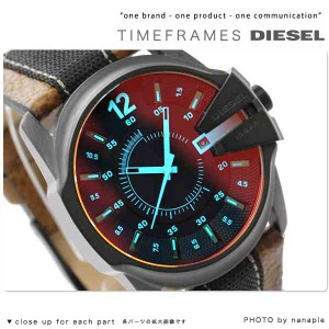 ディーゼル DIESEL メンズ 腕時計 デイト ブラック×ブラウン DZ1600