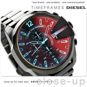 【あす着】ディーゼル DIESEL メガチーフ クロノグラフ メンズ 腕時計 DZ4318 クオーツ オールブラック