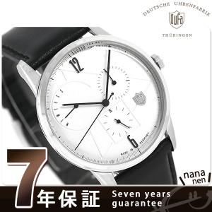 DUFA ドゥッファ ヴァイマール カレンダー 41mm ドイツ製 DF-9019-05 腕時計 シルバー
