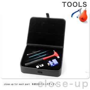 腕時計工具 ウォッチメンテナンスセット バンド交換・調整用工具 TOOL-SET-001