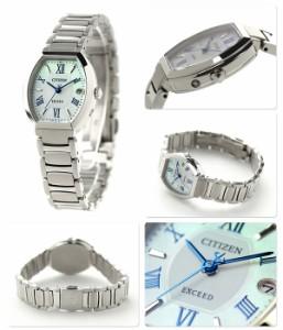 シチズン エクシード チタニウムコレクション 電波ソーラー ES8140-50A CITIZEN EXCEED レディース 腕時計 マザーオブパール
