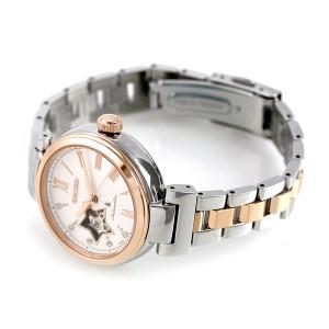 【あす着】セイコー ルキア メカニカル オープンハート レディース SSVM034 SEIKO LUKIA 腕時計 シルバー