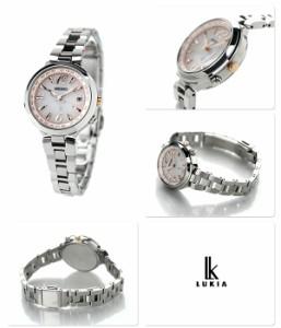 【あす着】セイコー ルキア ラッキーパスポート 電波ソーラー SSVV017 SEIKO LUKIA 腕時計 綾瀬はるか ピンクグラデーション