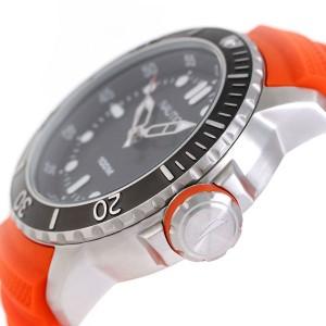 ノーティカ NMS クオーツ メンズ 腕時計 NAD18518G NAUTICA ブラック×オレンジ