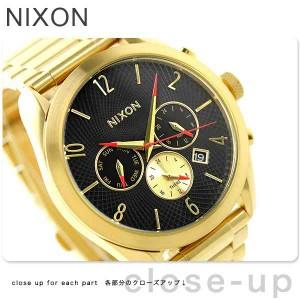 【あす着】ニクソン nixon ブレット レディース 腕時計 A366510 nixon オールゴールド/ブラック
