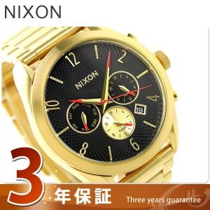 ニクソン nixon ブレット レディース 腕時計 A366510 nixon オールゴールド/ブラック