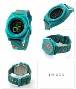 【あす着】ニクソン nixon タイムテラー デジ クオーツ 腕時計 A4171610 NIXON マーブル マルチ