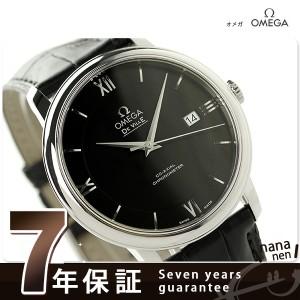 オメガ OMEGA デビル プレステージ 39.5MM 自動巻き メンズ 424.13.40.20.01.001 腕時計 ブラック