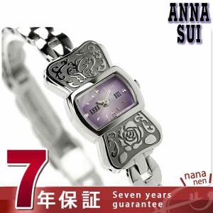 アナスイ リボンブレス レディース 腕時計 FBVK968 ANNA SUI クオーツ パープル