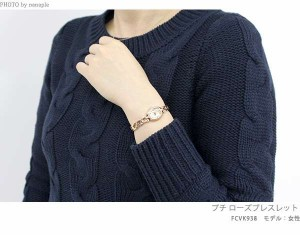 アナスイ プチ ローズブレスレット レディース 腕時計 FCVK938 ANNA SUI クオーツ ゴールド