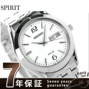 セイコー スピリット ソーラー メンズ SBPX079 SEIKO SPIRIT 腕時計 ホワイト