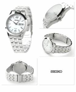 【あす着】セイコー スピリット ソーラー メンズ SBPX079 SEIKO SPIRIT 腕時計 ホワイト