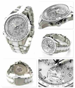 【ショッパー付き♪】セイコー アストロン GPS ソーラー クロノグラフ メンズ SBXB027 SEIKO ASTRON 腕時計 コンフォテックス ホワイト