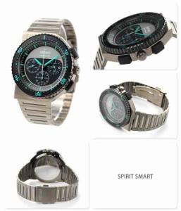 セイコー スピリット クロノグラフ ジウジアーロ デザイン 2nd 限定モデル SCED019 SEIKO SPIRIT SMART メンズ 腕時計 クオーツ ブラック