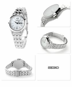 【あす着】セイコー スピリット ソーラー レディース STPX027 SEIKO SPIRIT 腕時計 ホワイト