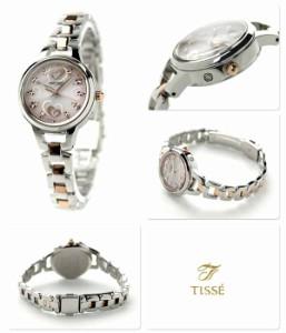セイコー ティセ 電波ソーラー ハートフル アワーズ SWFH029 SEIKO TISSE レディース 腕時計 ピンク