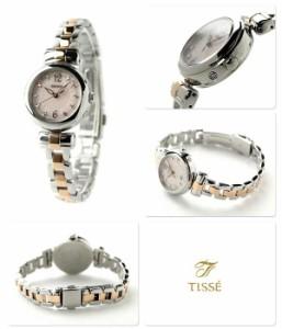 【あす着】セイコー ティセ 電波ソーラー レディース 腕時計 SWFH043 SEIKO TISSE ピンク