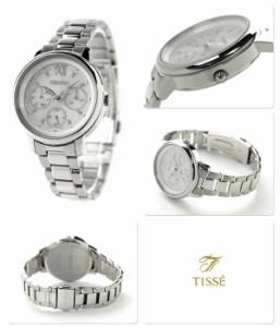 セイコー ティセ ソーラー マルチファンクション SWFJ007 SEIKO TISSE レディース 腕時計 シルバー