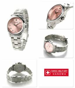 【あす着】スイスミリタリー ローマン レディース 腕時計 ML390 SWISS MILITARY ピンク