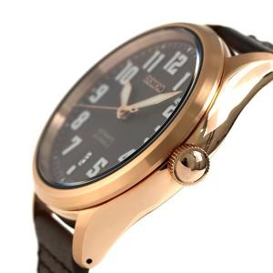 セイコー スピリット ナノユニバース 限定モデル 自動巻き SCVE046 SEIKO 腕時計 ブラウン