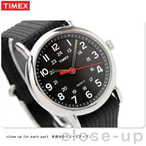 【あす着】タイメックス ウィークエンダー セントラルパーク 38mm T2N647 腕時計 TIMEX ブラック