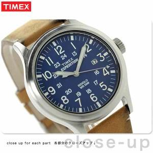 タイメックス エクスペディション スカウト メタル TW4B01800 TIMEX 腕時計 ネイビー×タン