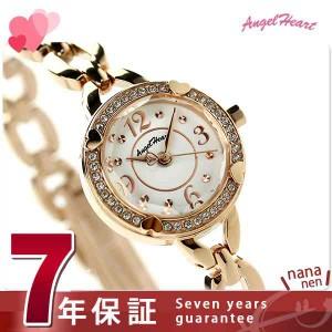 エンジェルハート フォーハート レディース 腕時計 FH22PW Angel Heart ホワイト×ピンクゴールド