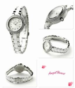 【あす着】エンジェルハート ラブスポーツ レディース 腕時計 WL27CZ Angel Heart シルバー×ホワイト
