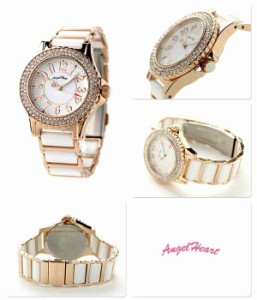 エンジェルハート ラブスポーツ レディース 腕時計 WL33CPGZ AngelHeart ホワイト×ピンクゴールド