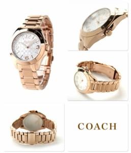 コーチ トリステン レディース 腕時計 クオーツ 14501780 COACH シルバー×ピンクゴールド