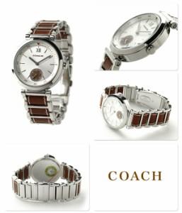 コーチ 1941 スポーツ レディース 腕時計 クオーツ 14502032 COACH シルバー×ブラウン