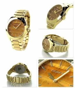 コーチ トリステン レディース 腕時計 クオーツ 14502053 COACH タイガーズアイ×ゴールド