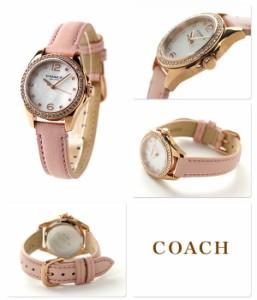 コーチ トリステン スモール レディース 腕時計 クオーツ 14502176 COACH ホワイトシェル×ピンク