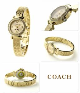 【あす着】コーチ マディソン ファッション レディース 腕時計 クオーツ 14502202 COACH ゴールド