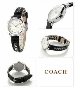 コーチ デランシー クオーツ レディース 腕時計 14502257 COACH アイボリー×ブラック